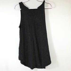 OLD NAVY • Grey Glitter Tank Top | Large